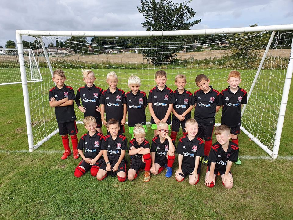 Springcoil sponsor local community football team